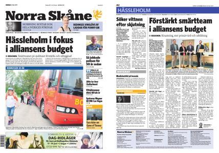 Norra Skåne – 22 maj 2019