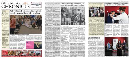 Gibraltar Chronicle – 31 October 2020