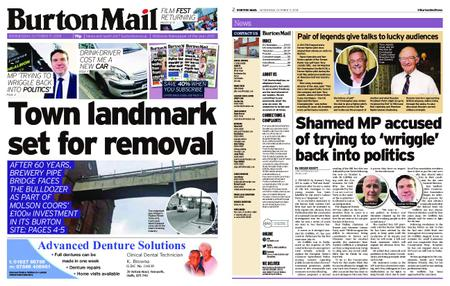 Burton Mail – October 17, 2018