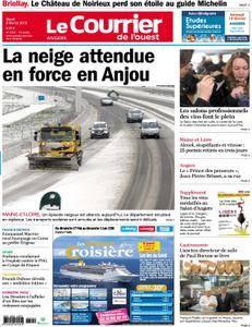 Le Courrier de l'Ouest Angers - 06 février 2018