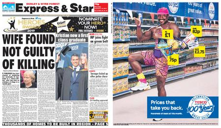Express and Star Dudley and Wyre Forest Edition – September 19, 2019