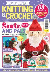 Let's Get Crafting Knitting & Crochet - Issue 95 - September 2017