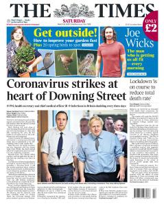 The Times - 28 March 2020
