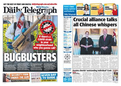 The Daily Telegraph (Sydney) – July 29, 2020