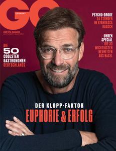 GQ Germany - Mai 2019