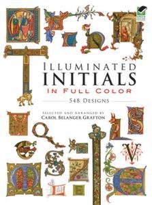Illuminated Initials in Full Colour (Dover Pictorial Archive)