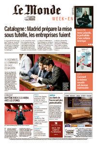Le Monde du Samedi 21 Octobre 2017