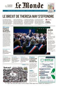 Le Monde du Jeudi 17 Janvier 2019
