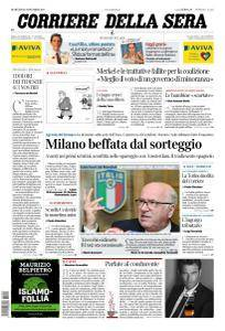 Corriere della Sera - 21 Novembre 2017