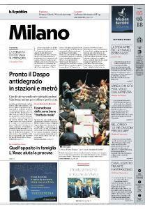 la Repubblica Milano - 5 Maggio 2018