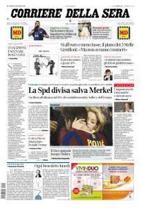 Corriere della Sera - 22 Gennaio 2018