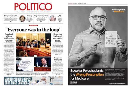 Politico – November 21, 2019