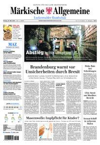 Märkische Allgemeine Luckenwalder Rundschau - 25. März 2019