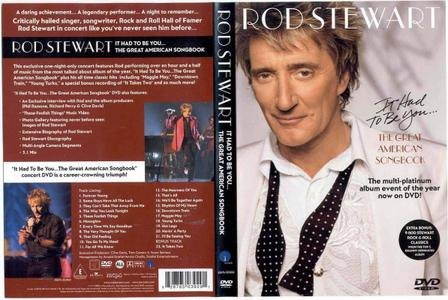 Rod Stewart - It Had To Be You... The Great American Songbook (2003) Repost