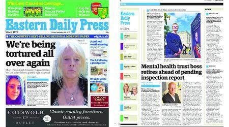 Eastern Daily Press – September 29, 2017