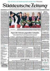 Süddeutsche Zeitung vom Dienstag, 30. Juli 2013