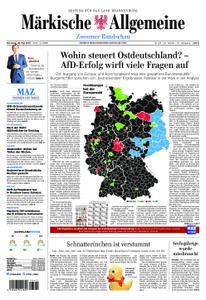 Märkische Allgemeine Zossener Rundschau - 28. Mai 2019