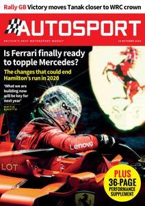 Autosport – 10 October 2019