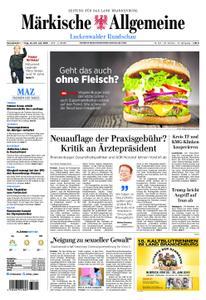 Märkische Allgemeine Luckenwalder Rundschau - 22. Juni 2019