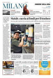 Corriere della Sera Milano - 7 Novembre 2017