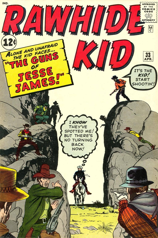 Rawhide Kid v1 033 1963