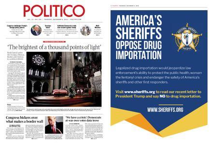 Politico – December 06, 2018