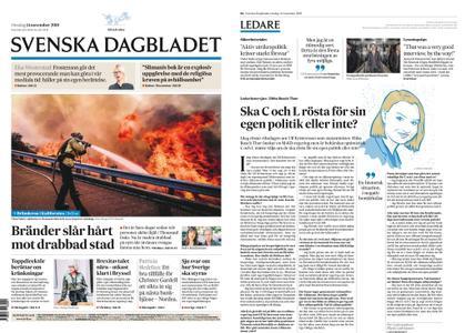 Svenska Dagbladet – 14 november 2018