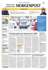 Solinger Morgenpost – 17. Februar 2020