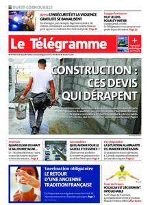 Le Télégramme Ouest Cornouaille – 15 juillet 2021