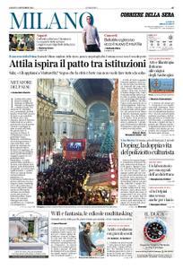 Corriere della Sera Milano – 08 dicembre 2018