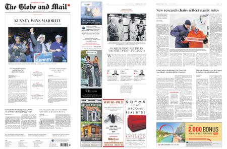The Globe and Mail – April 17, 2019