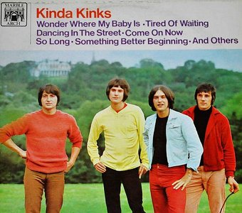 The Kinks - Kinda Kinks [MALS 1100 Vinyl Fold Down] 24bit 96kHz