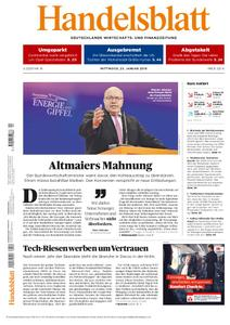 Handelsblatt - 23. Januar 2019