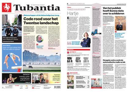 Tubantia - Enschede – 25 oktober 2018