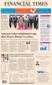 Financial Times Europe – 03 October 2018