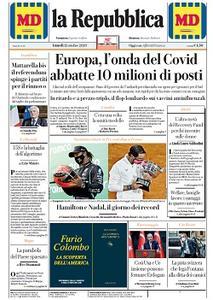 la Repubblica - 12 Ottobre 2020