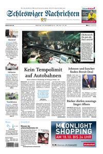 Schleswiger Nachrichten - 18. Oktober 2019