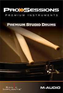M-Audio Pro Sessions Premium Instruments Premium Studio Drums MULTiFORMAT