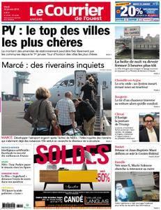 Le Courrier de l'Ouest Angers - 23 janvier 2018