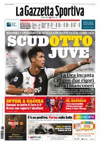 La Gazzetta dello Sport Roma – 12 luglio 2020