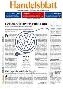 Handelsblatt - 12. September 2017