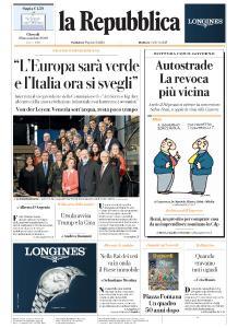 la Repubblica - 28 Novembre 2019