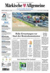 Märkische Allgemeine Luckenwalder Rundschau - 06. Juni 2018