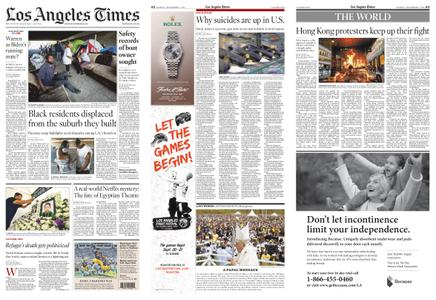 Los Angeles Times – September 09, 2019