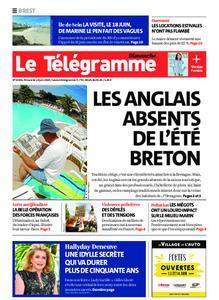 Le Télégramme Brest Abers Iroise – 14 juin 2020
