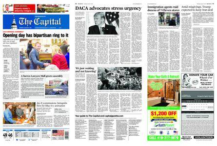 The Capital – January 11, 2018