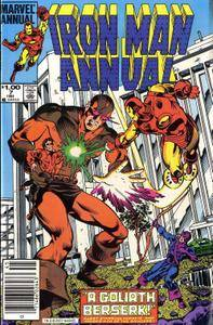 Iron Man Annual v1 007 Complete Marvel Collection