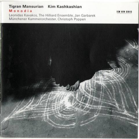 Tigran Mansurian & Kim Kashkashian - Monodia (The Hilliard Ensemble, Munchener; Christoph Poppen) (2004)