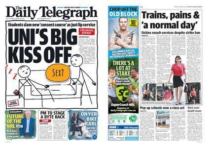 The Daily Telegraph (Sydney) – January 30, 2018