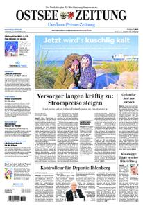 Ostsee Zeitung Wolgast - 21. November 2018